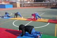快乐体操 垫上教学