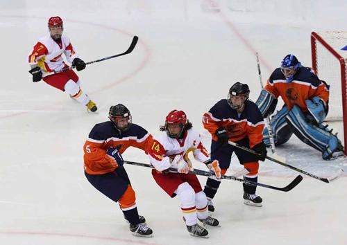 女子冰球世界锦标赛 技术分析中国女冰憾负荷兰
