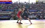 2014年世锦赛98kg 罗马尼亚-德国 八分之一