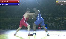 2014年世锦赛130kg决赛 土耳其-古巴
