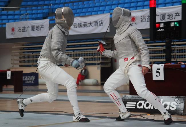击剑冠军赛女佩团体精彩集锦
