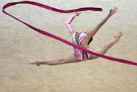 艺术体操全国个人冠军赛:成人组团体总分赛赛况