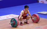 2015年全国男子举重锦标赛 石智勇夺冠69公斤级