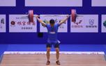 全国男子举重锦标赛 粟迎击败吕小军包揽77三金