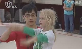 探访上海首家体操俱乐部