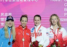 女佩世界杯北京站俄罗斯名将维利卡亚夺冠
