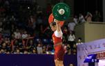 女举全锦赛第二日:福建选手邓薇夺冠63公斤级