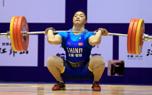 女举全锦赛75公斤级 山东选手康月收获三枚金牌