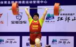 孟苏平打破挺举全国纪录 夺得75公斤以上级的冠军