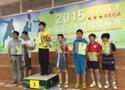 2015中国青少年壁球锦标赛春季杯在上海圆满落幕