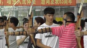 2015东华大学射箭体验活动