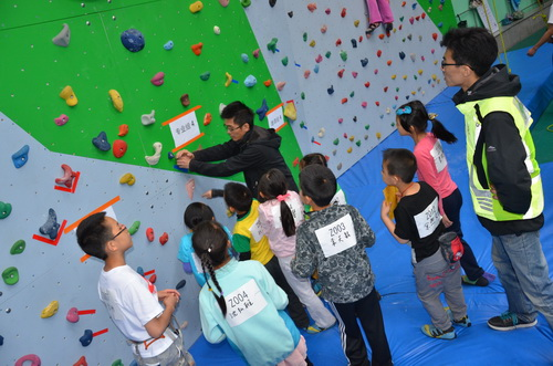 攀岩希望之星北京地区
