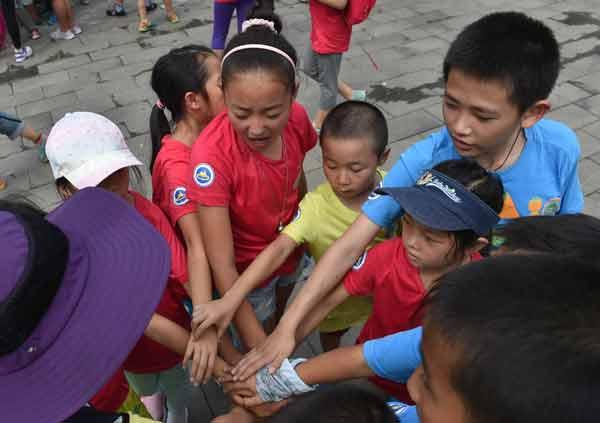 【组图】青少年户外营地夏令营北京开营