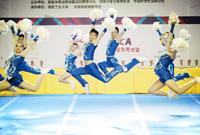 2014-2015年全国啦啦操联赛总决赛精彩图片集锦