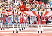 世锦赛110米栏 谢文骏晋级半决赛