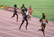 女子4X100米接力无缘决赛