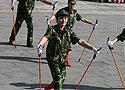 全国老年人持杖健步行走活动开幕 手杖操精彩瞬间