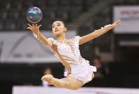 艺术体操世锦赛揭幕 中国新晋艺体女神张豆豆亮相