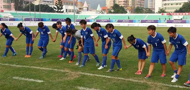 女足姑娘们践行公平竞赛精神