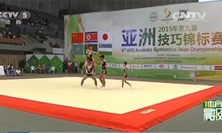 体育晨报:亚洲技巧锦标赛落幕 中国队夺4金