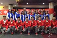 中国体操队出征备战本届世锦赛 张成龙领衔男队