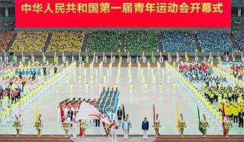 刘延东宣布第一届全国青年运动会开幕