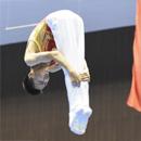 刘佳霖夺青运会蹦床男子网上个人决赛冠军