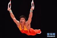 体操世锦赛:中国男队资格赛暂列第二