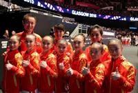世锦赛:中国女队获得团体亚军