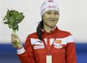 2015速度滑冰世界杯卡尔加里站:张虹500米夺金