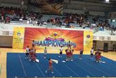 中国啦啦操队在韩国啦啦操锦标赛取得优异成绩