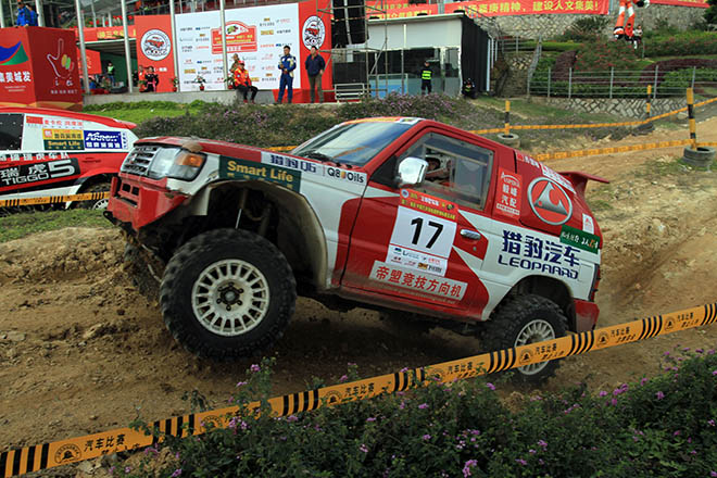 意外考验车手