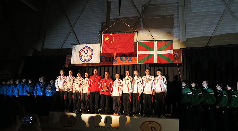中国拔河队卫冕世界冠军再获历史突破-拔河协会