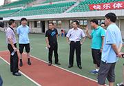2015总局青少司王玄副司长、田管中心青少部黄玮部长来如视察训练营工作