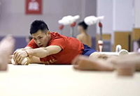 中国体操队的秘密武器