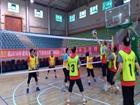 资阳市2016年老年汽排球赛在中国中车集团资阳机车有限公司文体中心举行