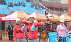 2016年全国射箭冠军赛女团铜牌决