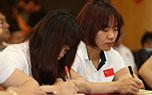 中国举重队参加奥运媒体关系与公共礼仪培训