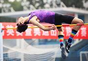 全国跳高精英赛暨奥运热身赛举行 刘鹏现场督战