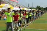 四川青少年射箭锦标赛开幕