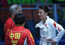 奥运女子重剑许安琪止步32强