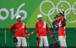 里约奥运中国获男团第四名
