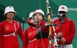 里约奥运中国女团无缘四强