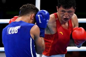 拳击56公斤级:张家玮无缘四强