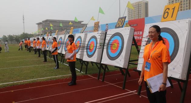 2016年全国射箭重点学校锦标赛于江苏开赛