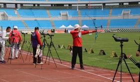 2016年全国射箭奥项赛男女个人第
