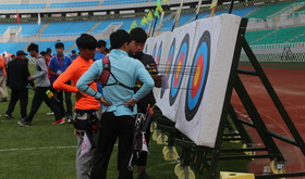 2016年全国射箭奥项赛男女个人第四70米轮赛(2)