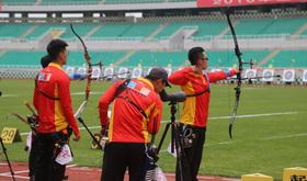 2016年全国射箭奥项赛男、女团体