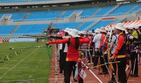 2016年全国射箭奥项赛混合团体1