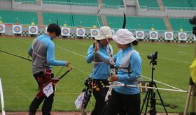 2016年全国射箭奥项赛混合团体半
